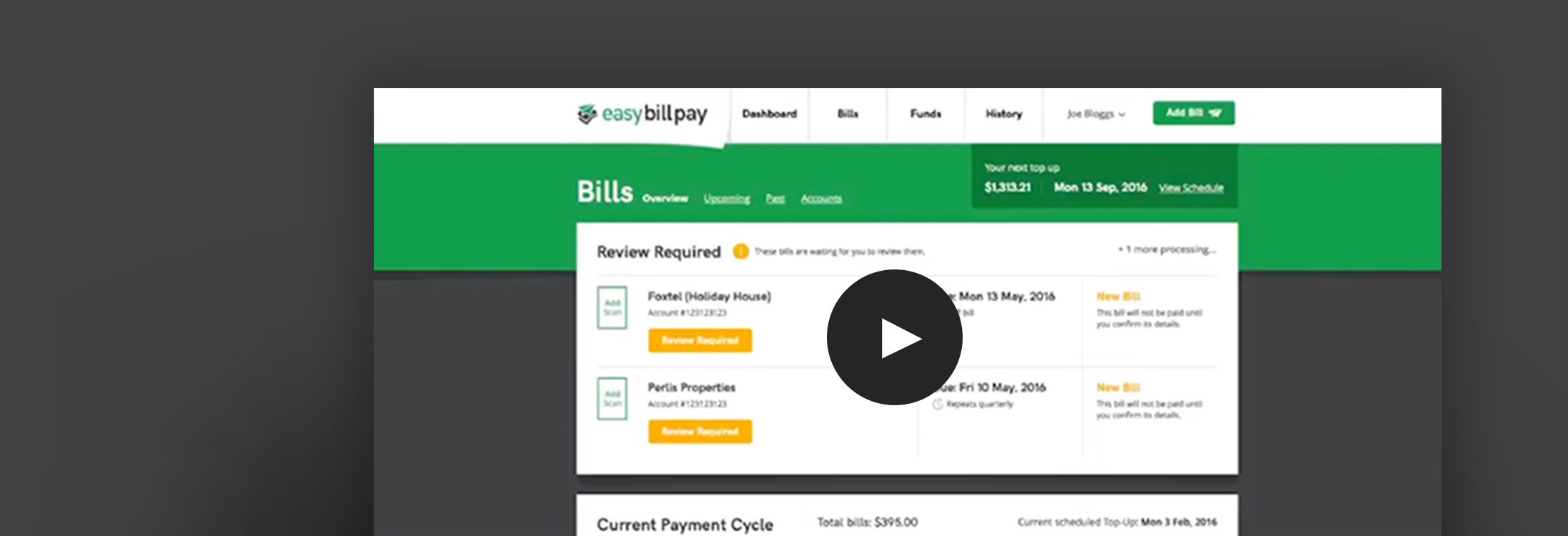 See how Easy Bill Pay works